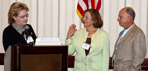 Ferial Alsikafi, M.D. take oath of office