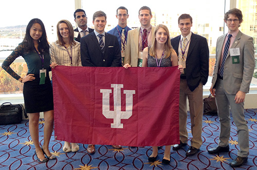 IU Students at AMA