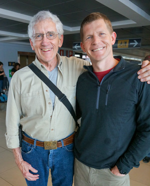 Dr. Herbst (right) with Dr. Merrill Ritter